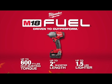 "Milwaukee® M18 FUEL™ 1/2"" Mid-Torque Impact Wrenches"