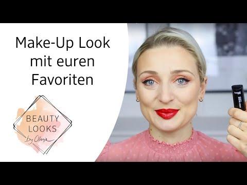 Make-Up Look mit euren Favoriten mit Olesja