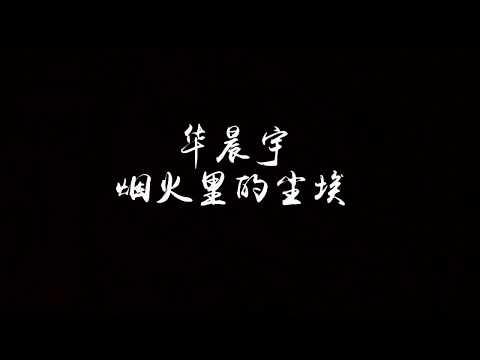 【歌词】华晨宇 - 烟火里的尘埃 『笑得开怀,哭得坦率,为何表情要让这世界安排。』