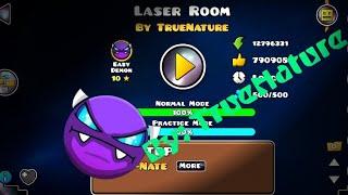 Easy demon (Laser Room) (By: TrueNature) (GD 2.1) RepIr GD