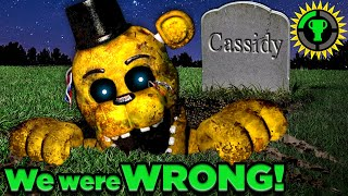 Game Theory: FNAF, Golden Freddy... NOT What We Thought!