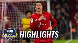 Bayern Munich vs. Borussia Dortmund   2019 Bundesliga Highlights