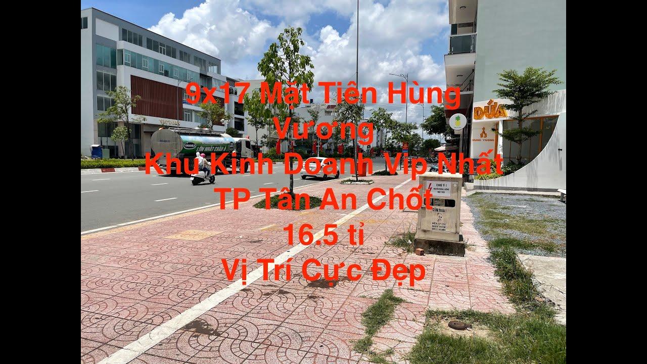 Bán đất mặt tiền đường Hùng Vương, khu trung tâm thương mại, LH 0909480087 video