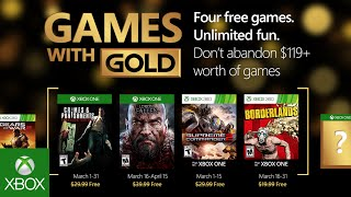 Borderlands and Lords of the Fallen among free Xbox Games with Gold titles in March