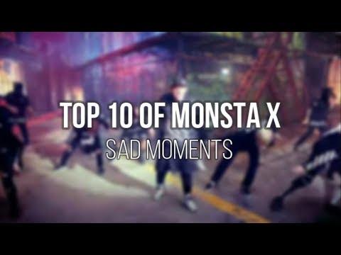MONSTA X Top 10 SAD MOMENTS