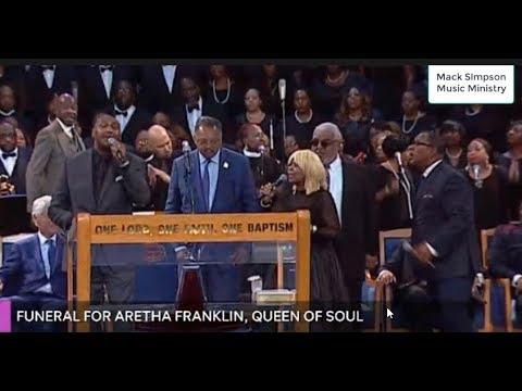 Vanessa Bell Armstrong and The Williams Brothers TEAR IT UP at Aretha Franklin's Funeral!