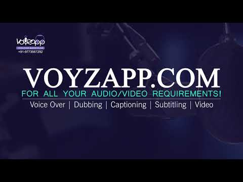 Explore voice actors by categories/genres to find your perfect voice @ Voyzapp