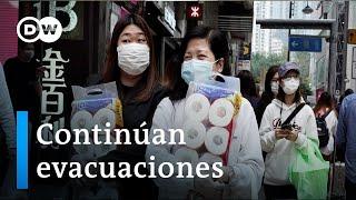 Coronavirus - Continúan evacuaciones