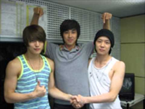 DBSK - Jae, Chun and Yunho funny voices xD