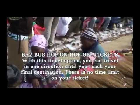 Baz Bus Hop-On Hop-Off Video