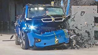 BMW i3 (2017) IIHS Crash Tests