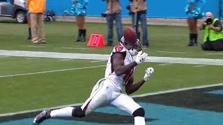Julio Jones Unbelievable Dropped Pass | Falcons vs. Panthers | NFL
