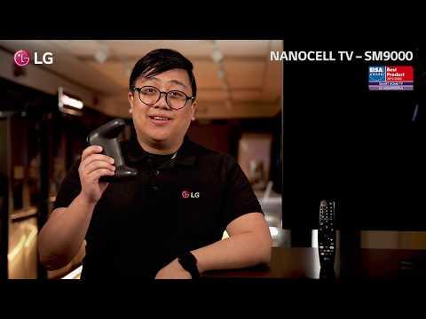 LG NanoCell SM9000 - Elegant NanoCelle-TV for alle anledninger