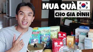 Mình mua gì từ Hàn Quốc về làm quà cho gia đình?