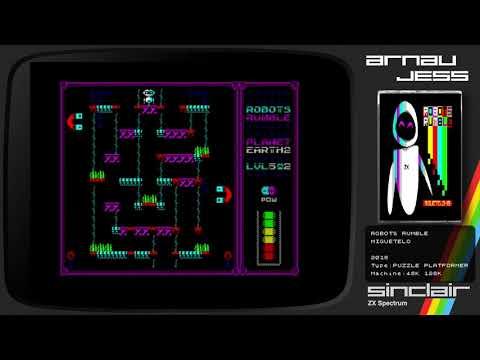 ROBOTS RUMBLE Zx Spectrum by Miguetelo