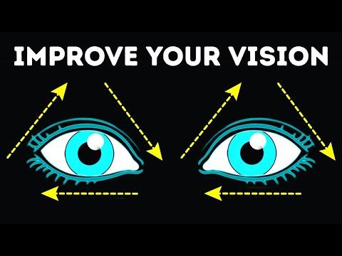 Едноставни вежби за очи со кои ќе го изострите видот