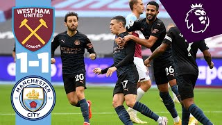 HIGHLIGHTS   West Ham 1-1 Man City   Phil Foden Goal!