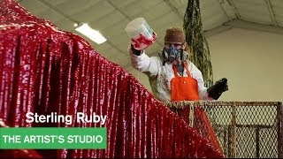 Sterling Ruby – Urethane Works – The Artist's Studio – MOCAtv