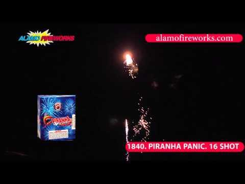 1840 Piranha Panic - Alamo Fireworks