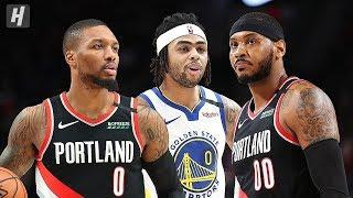 Golden State Warriors vs Portland Trail Blazers - Game Highlights | January 20 | 2019-20 NBA Season