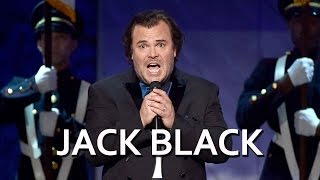 Jack Black Performs at the AFI Tribute to Steve Martin