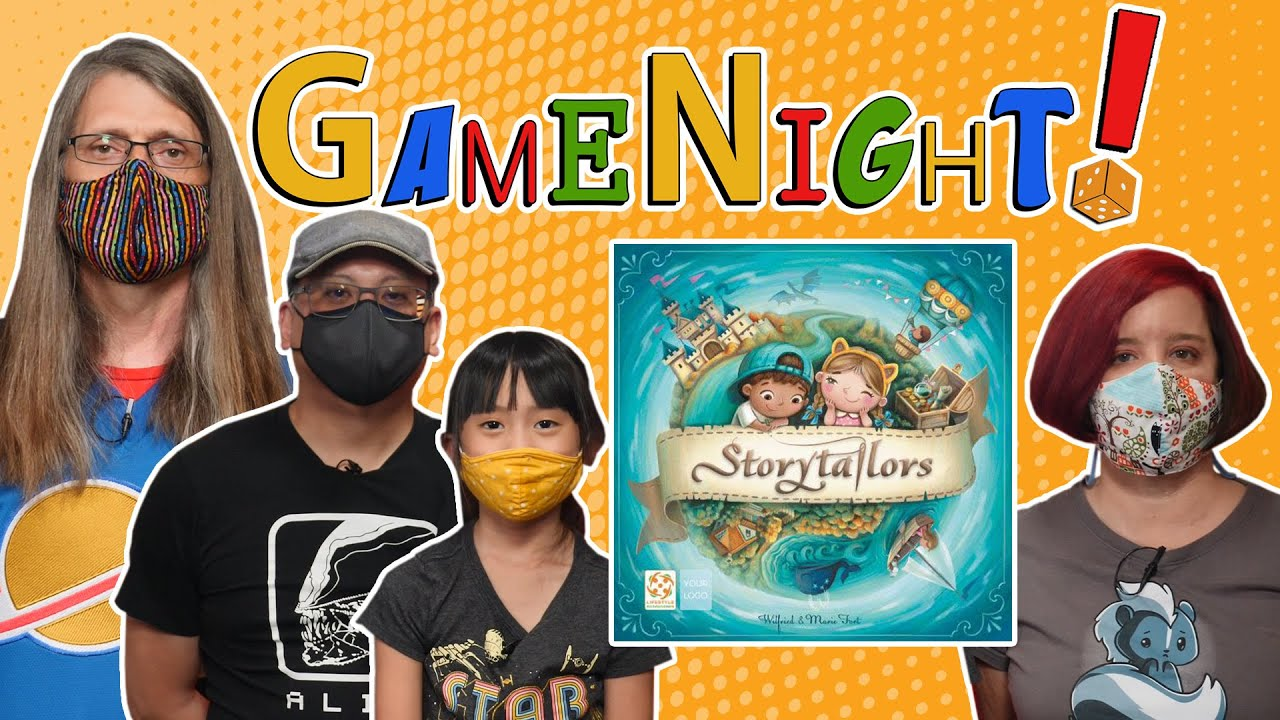 Storytailors - GameNight! Se9 Ep4 - How to Play and Playthrough
