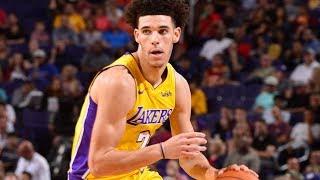 Lonzo Ball Bounces Back 2nd Game! 29 Pts 11 Rebs 9 Asts Lakers vs Suns 2017-18 Season