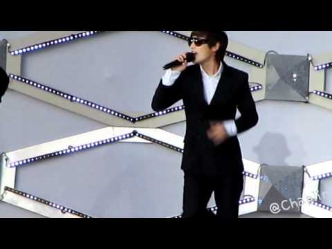 [Fancam]120609 KangTa - 愛頻率  SMT In Taiwan