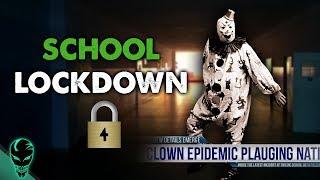 Creepy Clown School Lockdown: Epidemic   Al Dente Creepypasta 16