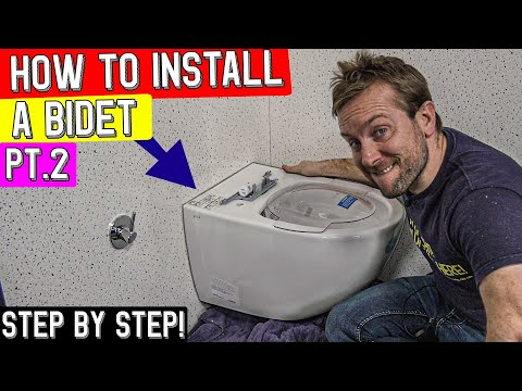 HOW TO INSTALL A TOILET BIDET STEP BY STEP DIY - Vitra Aquacare