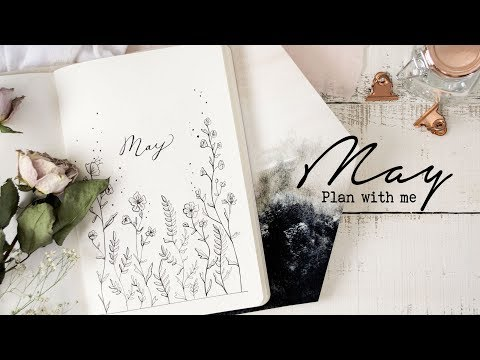 Plan with me | May 2018 Bullet Journal Setup | Peaceful Simplicity