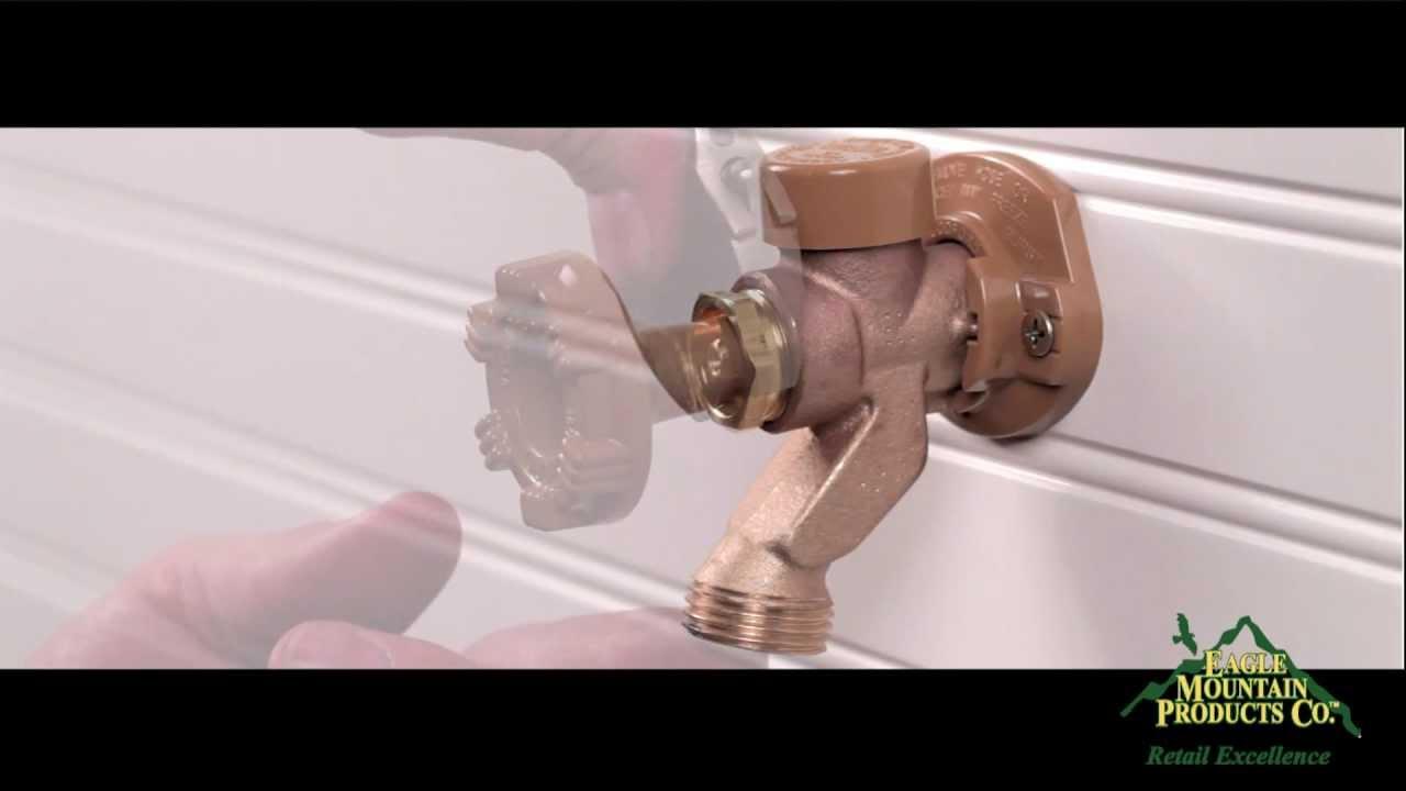 Woodford Model 17 Outdoor Water Faucet Repair Youtube