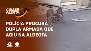 Polícia procura dupla armada que agiu na Aldeota