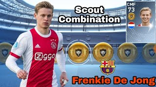 Scout combination PES 2019 MOBILE || Scout combination of