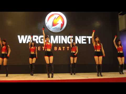 2014 台北電玩展 Wargaming 正妹吊帶舞直擊-ETtoday 3C