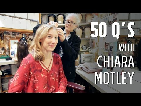 50 Questions with Chiara Motley