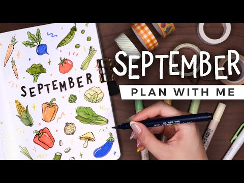 PLAN WITH ME | September 2021 Bullet Journal Setup