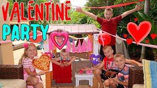 Kids Valentine's Day Party Skit