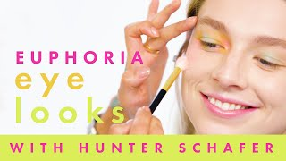 Tutorial: Hunter Schafer Models 3 Euphoria-Inspired Makeup Looks