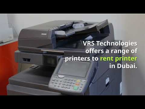 Photocopier Rental Dubai - Rent Printer Dubai - Canon Printer Rental