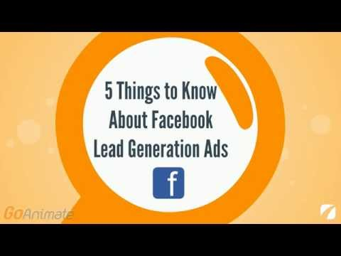 5 Things to Know About Facebook Lead Generation Ads