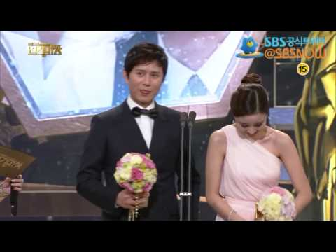 [베스트 커플상 - 박유천, 한지민 - 김민종, 윤진이] 2012 SBS 연기대상