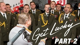 Радио Энерджи: Саймон «Чёрный Перец» и хор МВД с «Get Lucky»