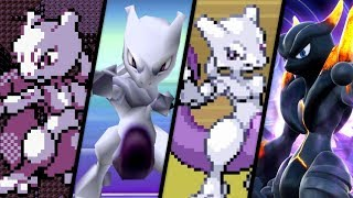 Evolution of Mewtwo Battles (1996 - 2018)
