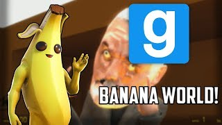 Bananas! || Garry's Mod (gmod) Deathrun Funny Moments