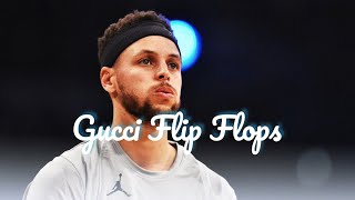Stephen curry Gucci flip Flops