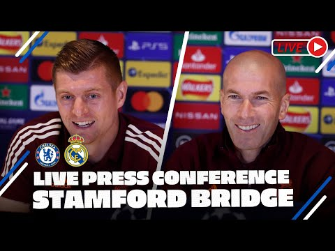 Kroos & Zidane press conference | Chelsea - Real Madrid | Champions League