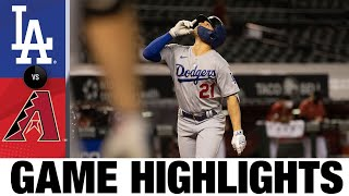 Dodgers sneak in late runs for the victory | Dodgers-D-backs Game Highlights 9/9/20