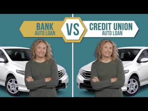 Bank vs Credit Union Auto Loan