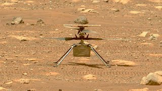 Ingenuity Mars Helicopter failed high-speed spin test causing reschedule of the first flight